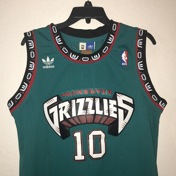 c4b1d6db65ab adidas Other - Mike Bibby Authentic Vancouver Grizzlies Jersey